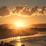 Hoofdstrand, Byron Bay, NSW, Australië Stock Foto's