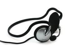 Hoofdtelefoon met microfoon Royalty-vrije Stock Fotografie