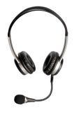 Hoofdtelefoons met microfoon Royalty-vrije Stock Afbeelding