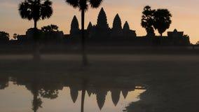 Hoofdtempel van het Angkor-complexe Vat Stock Afbeeldingen
