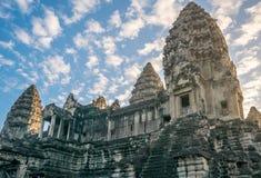 Hoofdtempel van het Angkor-complexe Vat Royalty-vrije Stock Foto