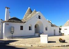 Hoofdtrullo, Alberobello Stock Foto