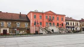 Hoofdvierkant in Wieliczka royalty-vrije stock fotografie