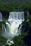 Hoofdwaterval van Iguazu Stock Foto