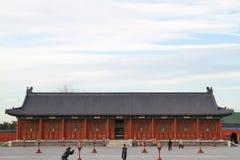 Hoofdzaal in de Tempel van Hemel Royalty-vrije Stock Foto