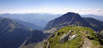 Hoog berglandschap royalty-vrije stock foto