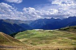 Hoog berglandschap Royalty-vrije Stock Afbeeldingen
