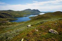 Hoog berglandschap Royalty-vrije Stock Foto's
