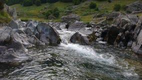 Hoog berglandschap stock afbeelding