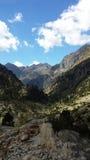 Hoog berglandschap Royalty-vrije Stock Afbeelding
