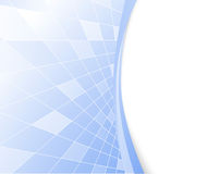 Hoog blauw - technologie vectorachtergrond Royalty-vrije Stock Fotografie