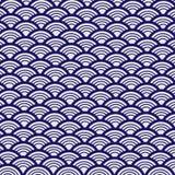 Hoog-contrast Vector Retro Patroon Stock Afbeelding