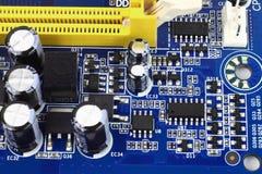 Hoog - de hardware van de technologiecomputer Stock Afbeeldingen