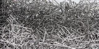 Hoog - de kwaliteit bendied staalstaaf Stock Foto's