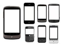 HOOG - DE TELEFOONS VAN TECHNOLOGIE Royalty-vrije Stock Foto's