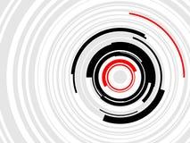 Hoog - de Vector van technologieHUD Ringen Stock Foto's