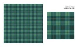 Hoog gedetailleerd Schots geruit Schots wollen stof Royalty-vrije Stock Afbeelding