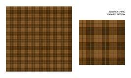 Hoog gedetailleerd Schots geruit Schots wollen stof Royalty-vrije Stock Afbeeldingen