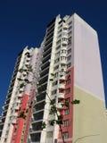 Hoog gekleurd huis Stock Afbeeldingen
