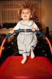 Hoog het springen Stock Foto