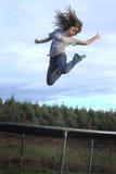 Hoog het vliegen Stock Fotografie