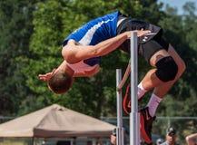 Hoog Jumper Makes Goed het Stock Fotografie