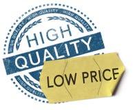 Hoog - kwaliteit, lage prijs Stock Afbeelding
