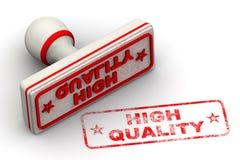 Hoog - kwaliteit Verbinding en afdruk stock illustratie