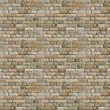 Hoog - kwaliteits naadloze textuur als achtergrond van een bakstenen muur Stock Fotografie