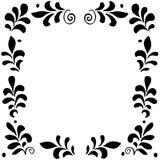 Hoog - kwaliteits origineel bloemenkader voor prentbriefkaar, invintation Royalty-vrije Stock Foto's