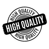 Hoog - kwaliteits rubberzegel Stock Foto