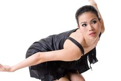 Hoog manier Aziatisch model stock fotografie