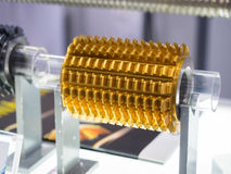 Hoog nauwkeurigheidscarbide endmill voor hoge precisieknipsel automot stock afbeelding