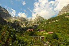 Hoog plattelandshuisje Tatras Royalty-vrije Stock Afbeelding