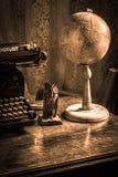 Hoog - schrijftafel van de kwaliteits de oude stijl royalty-vrije stock afbeeldingen