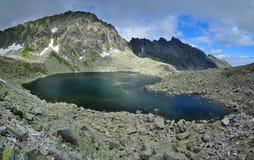 Hoog Tatras-meer Royalty-vrije Stock Afbeeldingen