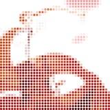 Hoog - technologie abstracte achtergrond Royalty-vrije Stock Fotografie