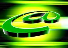 Hoog - technologie @ Symbool vector illustratie