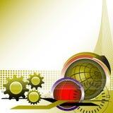 Hoog - technologieconcept royalty-vrije illustratie