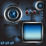 Hoog - technologieontwerp Royalty-vrije Stock Foto