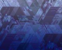 Hoog - technologiepatroon Stock Afbeeldingen