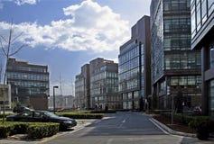 Hoog - technologietuin van Peking. Stock Fotografie