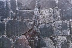 Hoog - Textuur en achtergrond van de kwaliteits de de Donkere Steen Stock Afbeelding