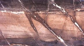 Hoog - Textuur en de achtergrond van de kwaliteits de Donkere bruine Steen Royalty-vrije Stock Afbeelding