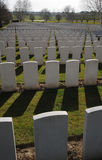 Hooge Crater Cemetery, Ypres, Belgium. royalty free stock photos