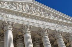 Hooggerechtshof stock fotografie