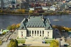 Hooggerechtshof van Canada, Ottawa royalty-vrije stock foto
