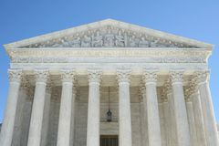 Hooggerechtshof van de Verenigde Staten Royalty-vrije Stock Foto