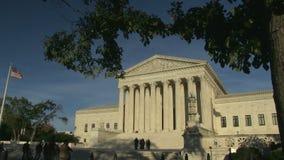 Hooggerechtshof van de Verenigde Staten stock footage