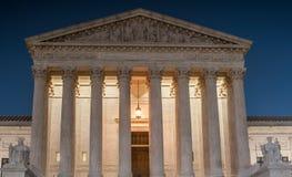 Hooggerechtshof van de Verenigde Staten van Amerika stock afbeelding